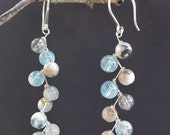 Silver Dangle Earrings EASY BREEZY