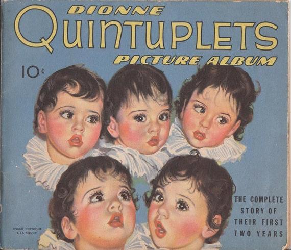 Dionne Quintuplets Picture Album