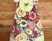 Sweet Mocca Halter Dress..YOU CHOOSE SIZE