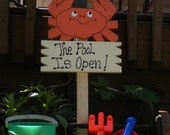 Yard Sign 65 - The Pool is Open