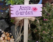 Small Yard Sign 53 - Ann's Garden