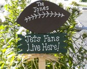 Yard Sign 133 - Jets Fans Live Here