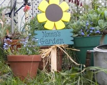 Yard Sign 12 -Nonna's Sunflower