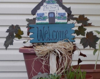 Yard Sign 55 - House welcome