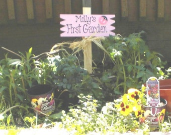 Small Yard Sign 22 -Molly's First Garden