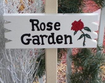 Smyardsign 132 - Rose Garden