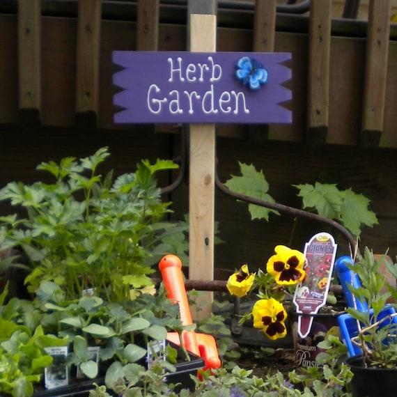 Small Yard Sign 20 -  Herb Garden