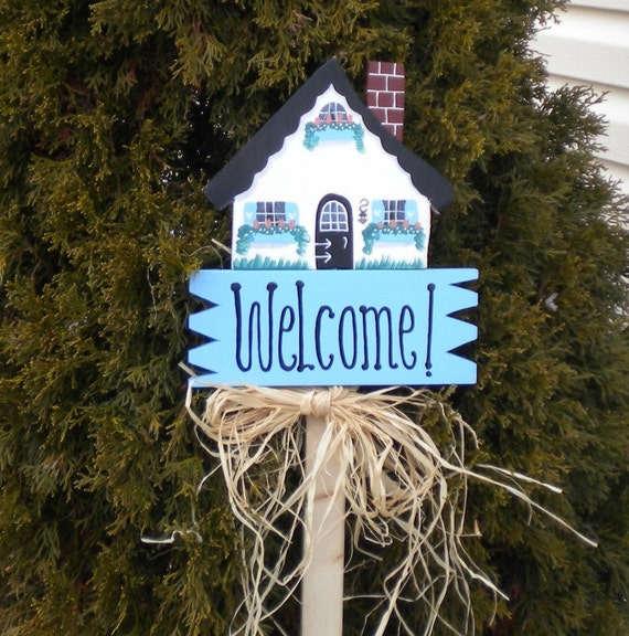 Yard Sign 218 - Welcome House