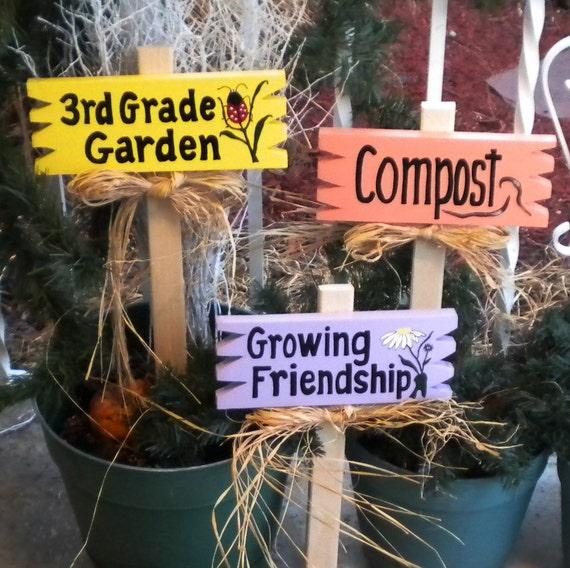 Smyardsign 119 - Set 3 Garden Signs