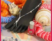 Blue Jeans and Pearls Barefoot Sandals