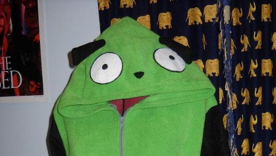 SALE Invader Zim inspired GIR hoodie RESERVED