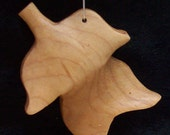 Tulip Tree Leaf from Maple wood
