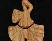 Ginko Leaves made of Oak wood