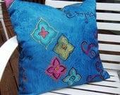Mardi Gras Inspired Pillow