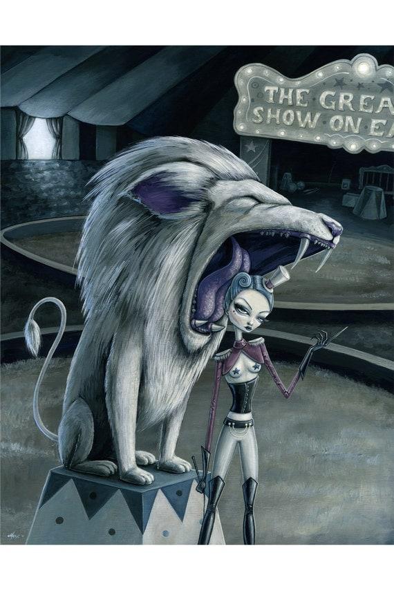 Leona the Lion Tamer