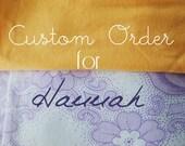 Custom Order Wedding Cake Bunting
