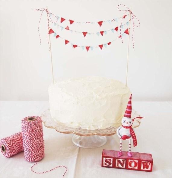 ORIGINAL Cake Bunting FROSTY