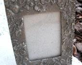Rustic metal frame