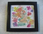 Spring Fairy Original Art by GDG's Aida Sofia Barba-Flores