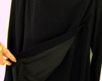 Emanuel Ungaro Elegant Black Dress from the House of Ungaro, Vintage
