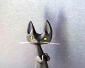 Black Cat Figurine - Le Matagot de Bonjour Poupette