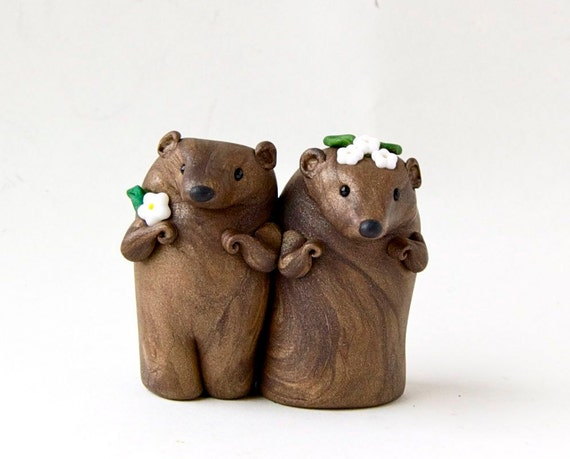 Groundhog Day Wedding Cake Topper Valentine Decor By Bonjour