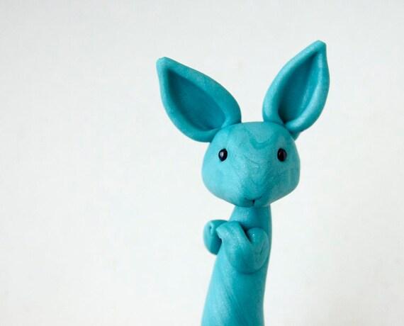 Blue Bunny by Bonjour Poupette