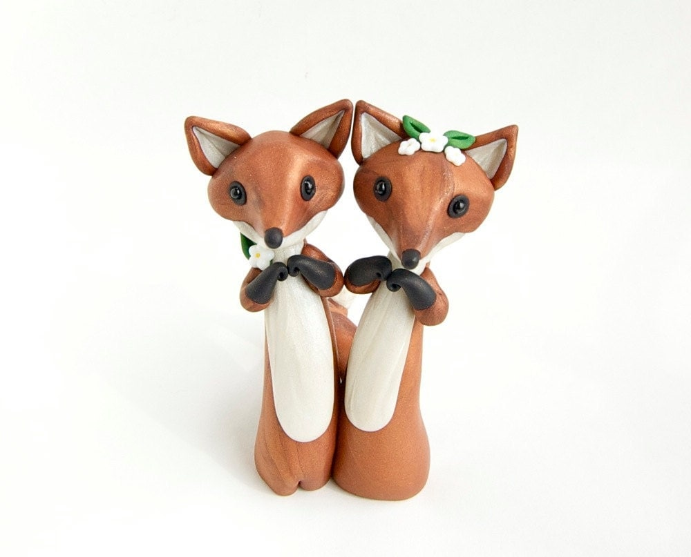 Fox Cake Topper Etsy