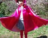 Fairy Princess Cape-Rosetta, Size 3-8