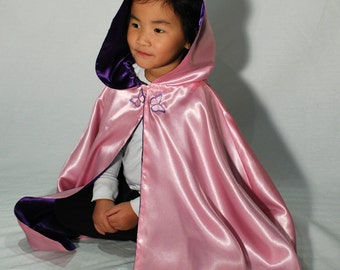 READY TO SHIP Girls Cape, Fairy Princess Butterfly
