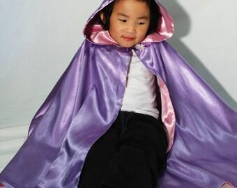 Fairy Princess Costume Cape-Lavender Bouquet