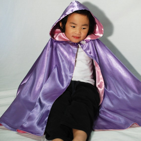 Fairy Princess Costume Cape-Lavender Bouquet