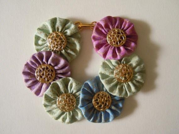 Persephone Button Bracelet