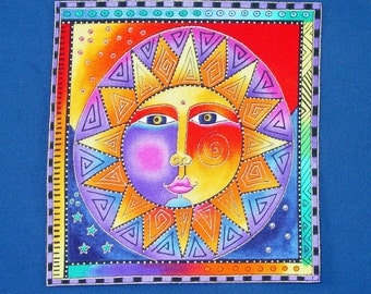 Gorgeous Celestial Dreams Applique*Handmade*Rare Laurel Burch fabric/195