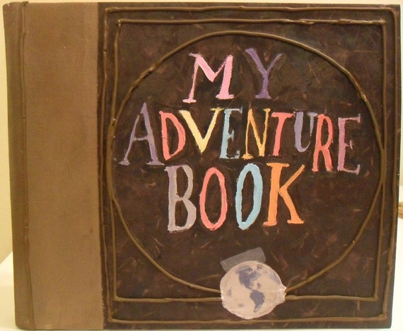 Handmade Disney's Up My Adventure Book