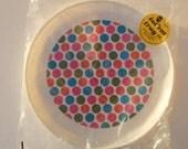 In the Manner of Alexander Girard - Deka Plastics tot'em tray - Polka Dot Tray