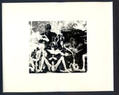 William S. Burroughs Photomontage by Allen DeLoach