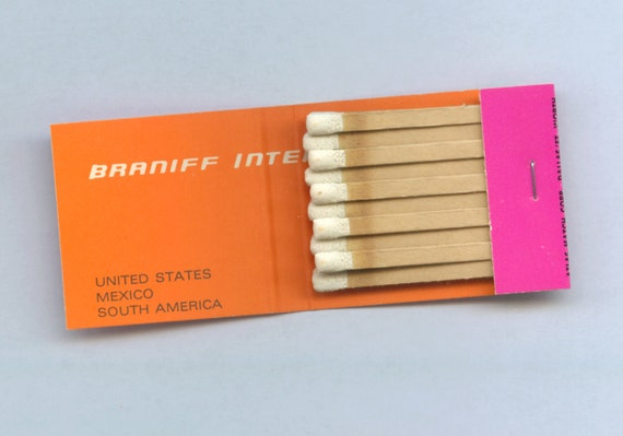 Alexander Girard - Matchbook - Braniff International