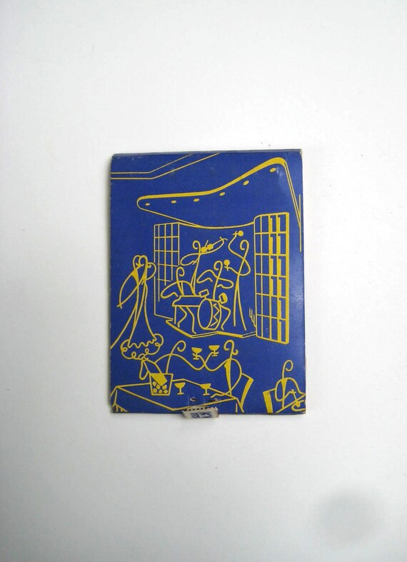 Modern Architecture - Vintage Extra Large Feature Matchbook Salon Monserrate -  Colombia
