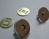 30set  14mm silver magnetic button Magnetic Snaps  Magnetic Closures purse making hardware purse making supplies