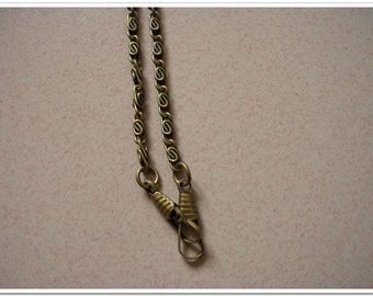 """40cm antique bronze Chain Links purse links bag chain purse chain with lobsters, 16 inch,16"""""""