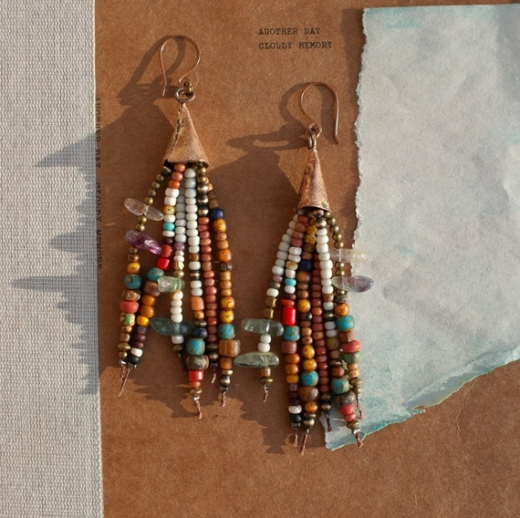 Desert Tassel Earrings