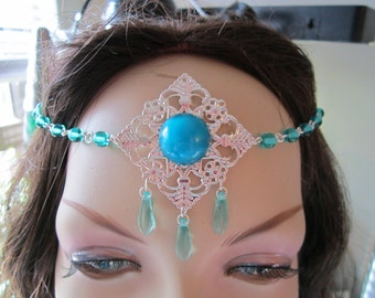 Circlet of the Forest Fae Elven Celtic Druid Renaissance LARP Costume Cosplay Bridal