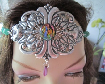 Tropical Circlet of the Summer Dreams Elven Celtic Druid LARP Bridal Renaissance