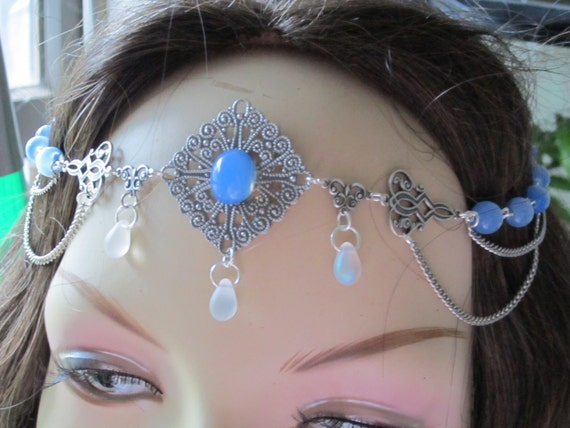 Circlet of the Morning Myst Celtic Druid Renaissance LARP Costume Cosplay Wedding