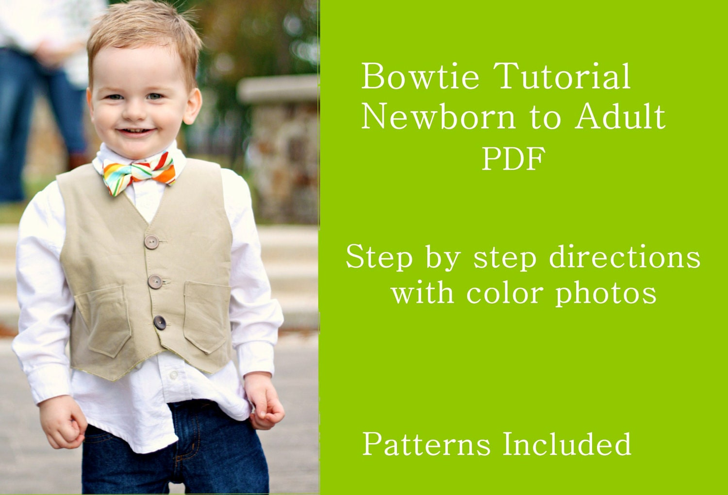 Bow Tie Pattern Pdf Bowtie pdf sewing tutorial and