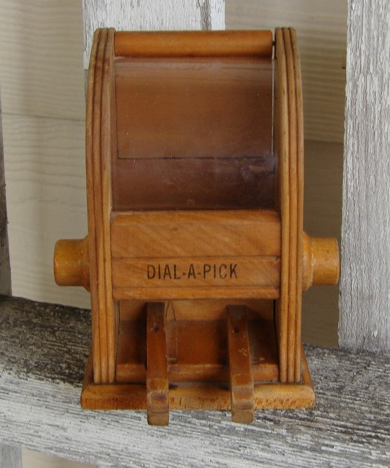 Restaurant style toothpick holder by vintageinsanity on etsy - Toothpick holder for purse ...