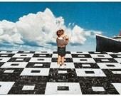 Original Collage Art Print // AHOY SIR // By Morgan Jesse Lappin