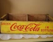 Vintage 1968 Coca Cola Truck Crate