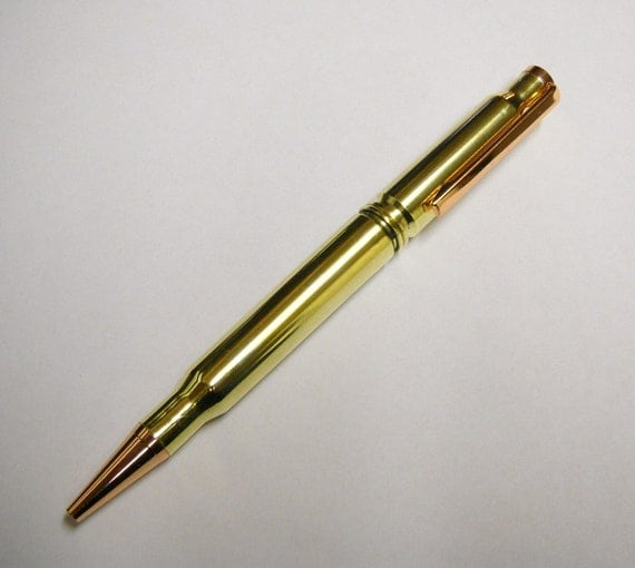 30-06 / 308 Bullet Pen - Winchester Brass Casings
